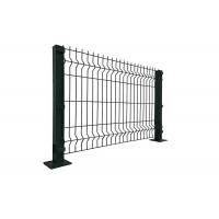 Buy cheap Metal Frame Curvy Welded V Mesh Security Fencing from wholesalers