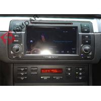 Buy cheap Split Screen Mode Bmw E46 Sat Nav , Android Auto Car Radio With Screen Mirroring Function from wholesalers