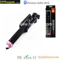 Buy cheap Hot wholesale Foldable Camera Selfie Stick with bluetooth shutter button at factory price from wholesalers