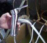 Buy cheap Brass Single Lever Basin Mixer Taps /  Monomcommande Chrome Coating Para Lavabo from wholesalers