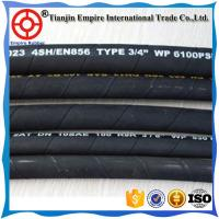 Buy cheap Qualified factory  flexibler EN853 2SN 4000psi high pressure DIN hydraulic rubber hose pipes with low price from wholesalers