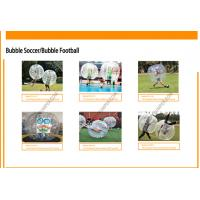 Buy cheap High Performance Inflatable Bubble Soccer Football Bubble Football Equipment from wholesalers