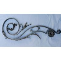 China Wrought iron ornaments Wrought Iron balusters used for iron gate and staircase Steel baluster on sale