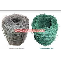 Buy cheap Multipurpose Barbed Wire Fence Free Sample Available High Security from wholesalers