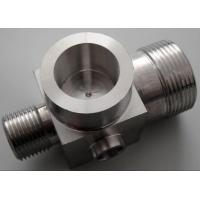 Buy cheap Precision Define CNC Milling Machine Parts Silver - Plated For Production from wholesalers