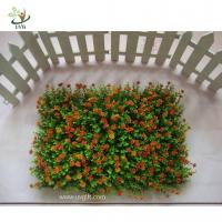 Buy cheap UVG HGR02 Colorful Plastic Boxwood Mat Indoor Artificial Grass Plants Decorative Gree from wholesalers