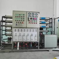 Buy cheap EDI + RO Pure Water Purification Machine For Battery Battery Liquid from wholesalers