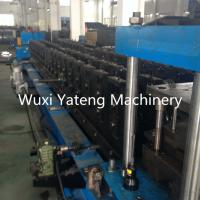 Buy cheap Security GI Material Storage Rack Roll Forming Machine ISO Light Steel Frame Machine from wholesalers