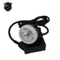 Buy cheap 5 Ah explosion proof coal mining li-battery led miners cap lamp 520g corded miner lamp from wholesalers