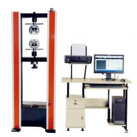 Buy cheap Computer Controlled Dual-Pillar Tensile Testing Machine from wholesalers