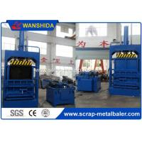 Buy cheap Four Pressing Guide Cardboard Press Machine , 100 Ton Waste Hydraulic Cardboard Baler from wholesalers
