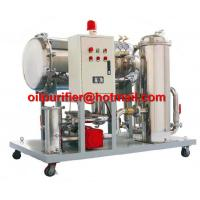 China Light Fuel oil purifier, Gasoline Oil Dehydration filteration remove particles 50% water, Diesel Oil Water Separator on sale