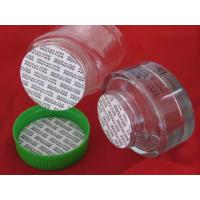 Buy cheap White PE foam liner for bottle cap seal, Self-sealing PE foam base seals from wholesalers