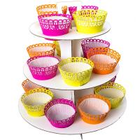 Buy cheap white cake stand from wholesalers