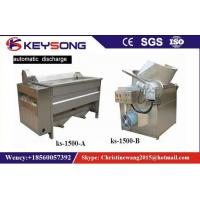 Buy cheap Small Scale Food Frying Machine For Fried Snacks Chips Production Line No Oil Smoke from wholesalers