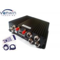Buy cheap Video SD Card Mobile DVR with 4 Cameras , Bidrectional Talk H.264 Network DVR from wholesalers