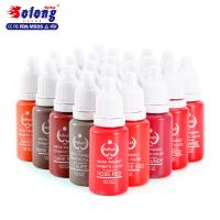 Buy cheap Solong wholesale Tattoo Supplies best sell superior eyebrow tatto long lasting professional tattoo ink set from wholesalers