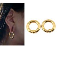 Buy cheap BODY PUNK Piercing Earring Ring Ear Stretcher Expander Weights BCR Gold Captive Ball Closure Nose Septum Ring 2.5mm 4mm from wholesalers