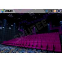 Buy cheap Amazing Cinema System Movie Theatre Seats With ARC Screen Play 3D Movie product