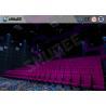 Buy cheap 100 Seats Sound Vibration Cinema Movie Theater Seats Bubble / Rain / Wind / Lightning from wholesalers