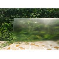 Buy cheap 3.2MM Flat Solar Panel Glass , Ultra Clear Tempered Glass Lamination Fuction from wholesalers