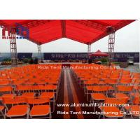 Buy cheap Arched Roof Lightweight DJ Light Truss , Trade Show Stage Lighting Scaffolding from wholesalers