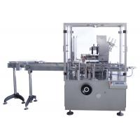 Buy cheap Auto Carton Box Packing Machine Vertical Type Condom Cream Soap Bar Encasing Machine from wholesalers