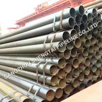 Buy cheap China manufacturer ASTM A53 black  ERW welded steel pipe inventory from wholesalers