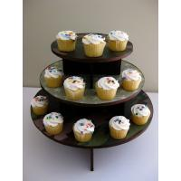 Buy cheap Corrugated Cardboard Mini Cupcake Tower Stand Recycled Material Flat Packing from wholesalers