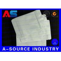 Buy cheap 7 * 10 Cm White Plastic Sleeves Aluminum Foil Bags Zip Lock Pounch For Capsules from wholesalers