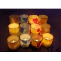 Buy cheap Remote Control Flameless Candles Led , Flameless Scented Candles No Dripping from wholesalers
