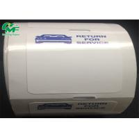 Buy cheap Strong Adhesive Thermal Printer Labels Roll Bumper Body Window Car Sticker Easy To Tear from wholesalers
