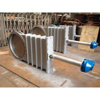 Buy cheap DN1000 Stainless Steel Cast Steel Gate Valve With Hand Wheel Gear from wholesalers