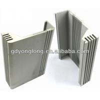 Buy cheap OEM Aluminium Extrusion Profile For Electrical Heat Sink Aluminium Louver Profile from wholesalers
