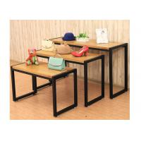 Buy cheap Fashion Style Merchandise Display Tables , Lightweight 3 Tier Retail Display Table from wholesalers