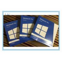 Buy cheap Windows 8.1 Os Software  Pro Pack DVD *2 With Key Card 32 / 64bits from wholesalers
