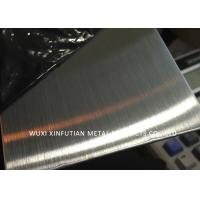 Buy cheap Anti - Fingerprint Hairline Finish 304 Stainless Steel Sheet Surface NO.4 / 4K from wholesalers