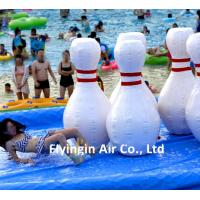 Giant Water Sports Amusement Equipment Inflatable Nike Sport Bottle for Water Slide Game