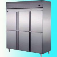 Buy cheap Stainless Steel Commercial Upright Freezers 6 Doors For Restaurant Factory from wholesalers