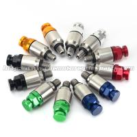 Buy cheap CNC Billet Aluminum Dirt Bike Fork Bleeders Reduce Harshness Caused from wholesalers