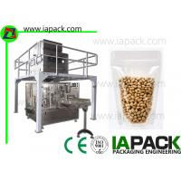 Buy cheap Bean Premade Pouch Packing Machine 380 V 3 Phase 50HZ / 60HZ 6.5 KW from wholesalers