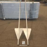 Buy cheap Hot Dipped Galvanized Fence Post with Wings 40mm x 2900mm from wholesalers