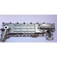 China Durable Oil Cooler Cover 4BD1 Engine Oil Cooler For Excavator EX120 SH120 Engine on sale