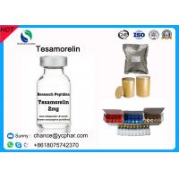 Buy cheap Top Purity Tesamorelin Peptide /TH9507 Reduce Excess Deep Belly Fat Egrifta And Muscle Growth CAS 106612-94-6 from wholesalers