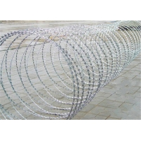 Buy cheap Blade Barbed Wire With 0.5mm Barbe from wholesalers