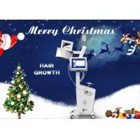 Buy cheap 8 Inch Touch LCD Screen Laser Hair Regrowth Machine With Skin Analyzer Painless from wholesalers