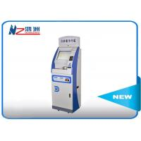 Buy cheap 43 inch Scren self check in machine 1920*1080 Resolution Ratio with ID card reader from wholesalers