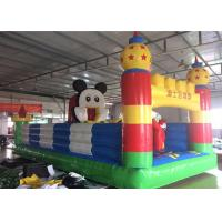 Buy cheap Mickey Mouse Disney Land Inflatable Jumping Castle With Reinforcement Belts Webbing from wholesalers