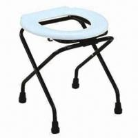 Buy cheap Simple Commode Chair, Made of Plastic product
