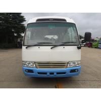 Buy cheap Environmental Low Fuel Coaster Minibus New Luxury Tour Shuttle Bus With Gasoline Engine product